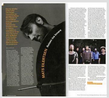 "Mats Eilertsens ""Rubicon"" review JazzThetik Magazin"